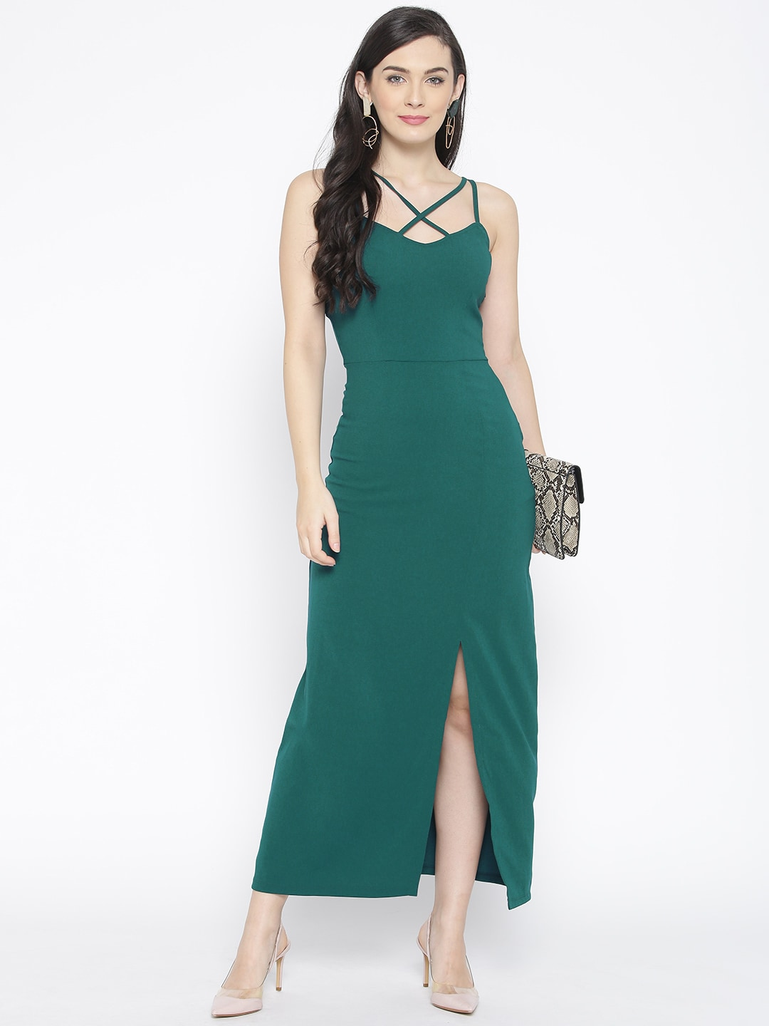 9962a9d80 Long Dresses - Buy Maxi Dresses for Women Online in India - Upto 70% OFF