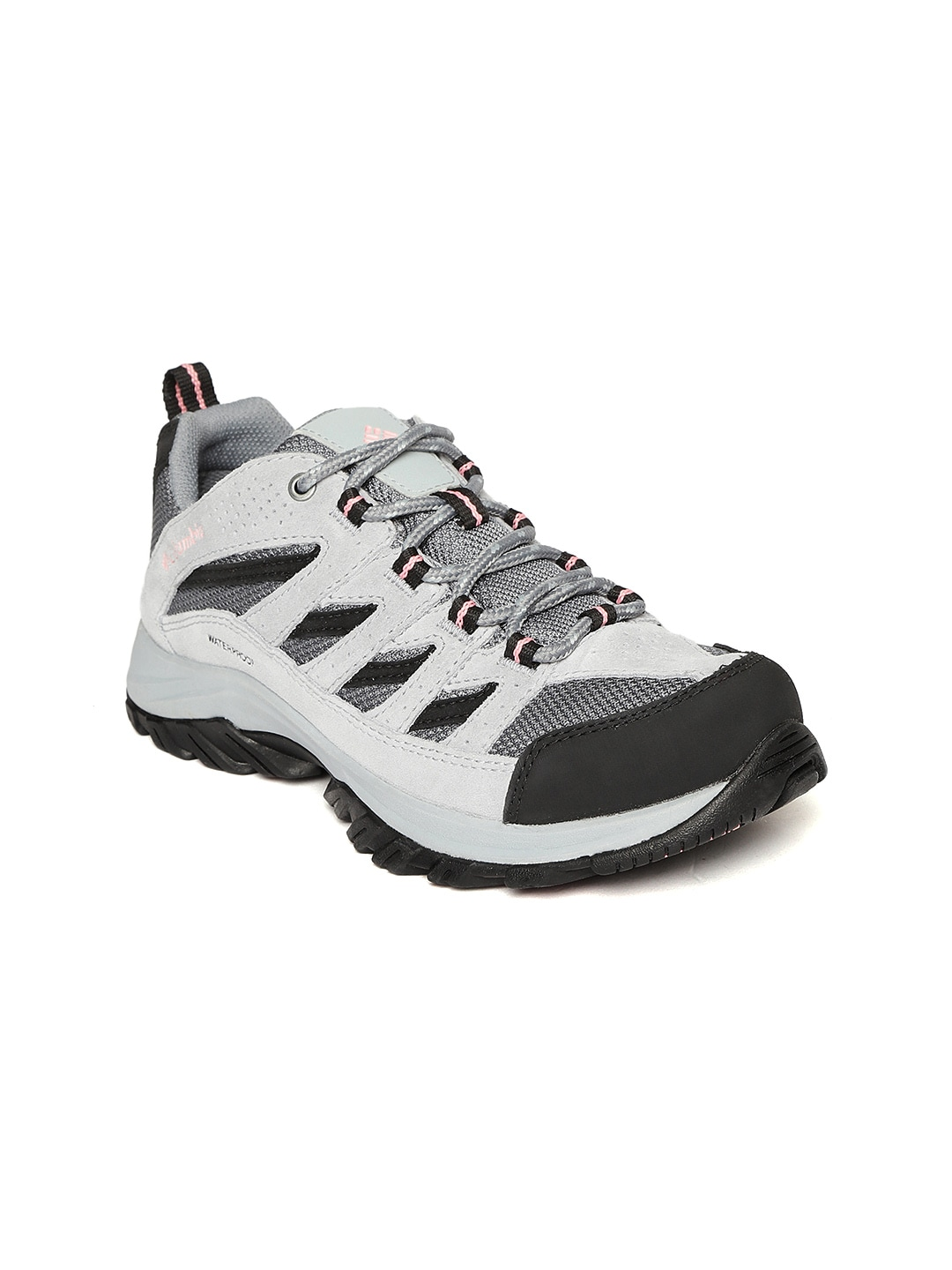 c144c1fe999 Columbia Women Grey CRESTWOOD Waterproof Trekking Shoes