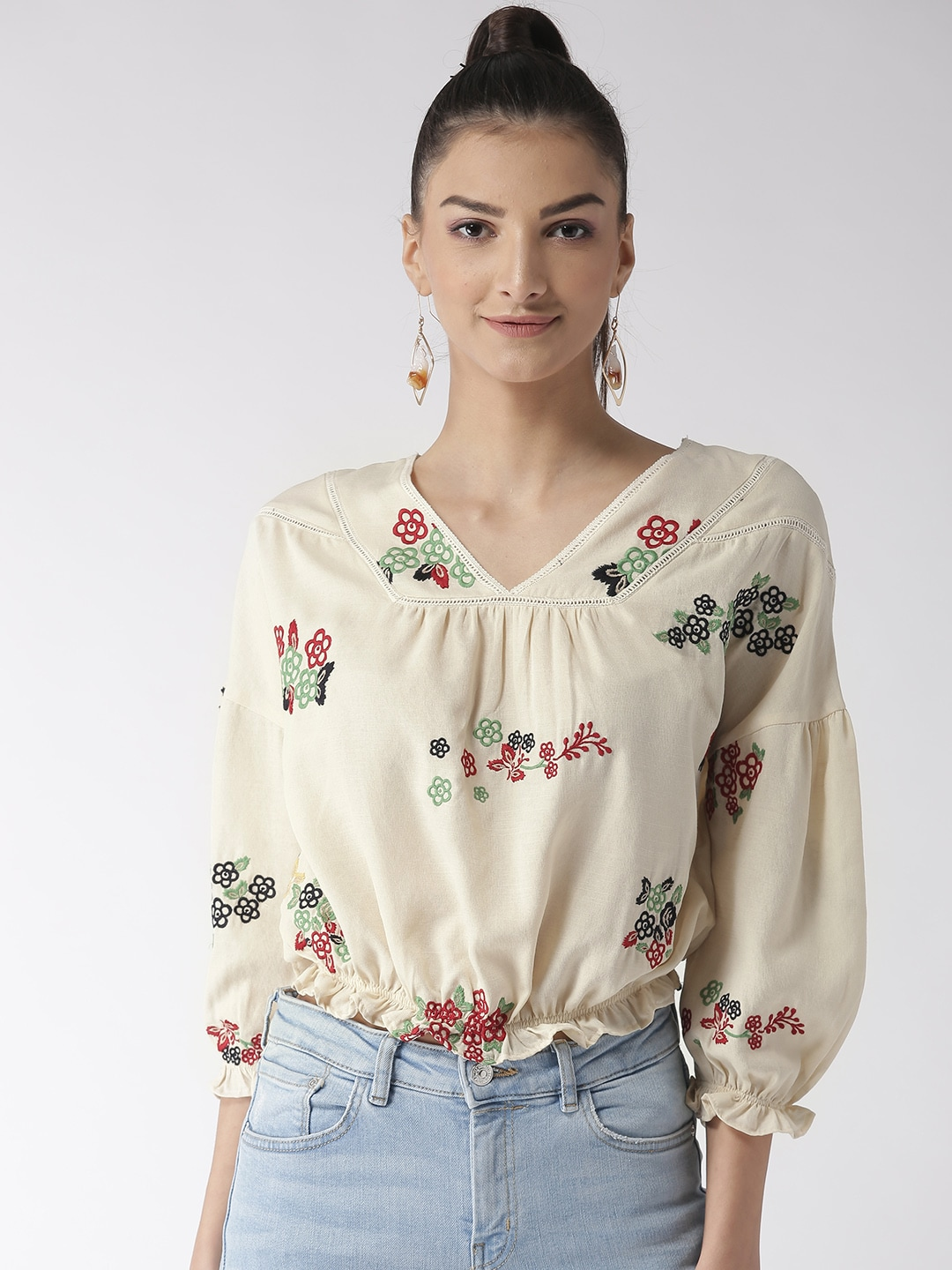 581cdea2bb4 Madame Tops - Buy Madame Top for Women Online in India