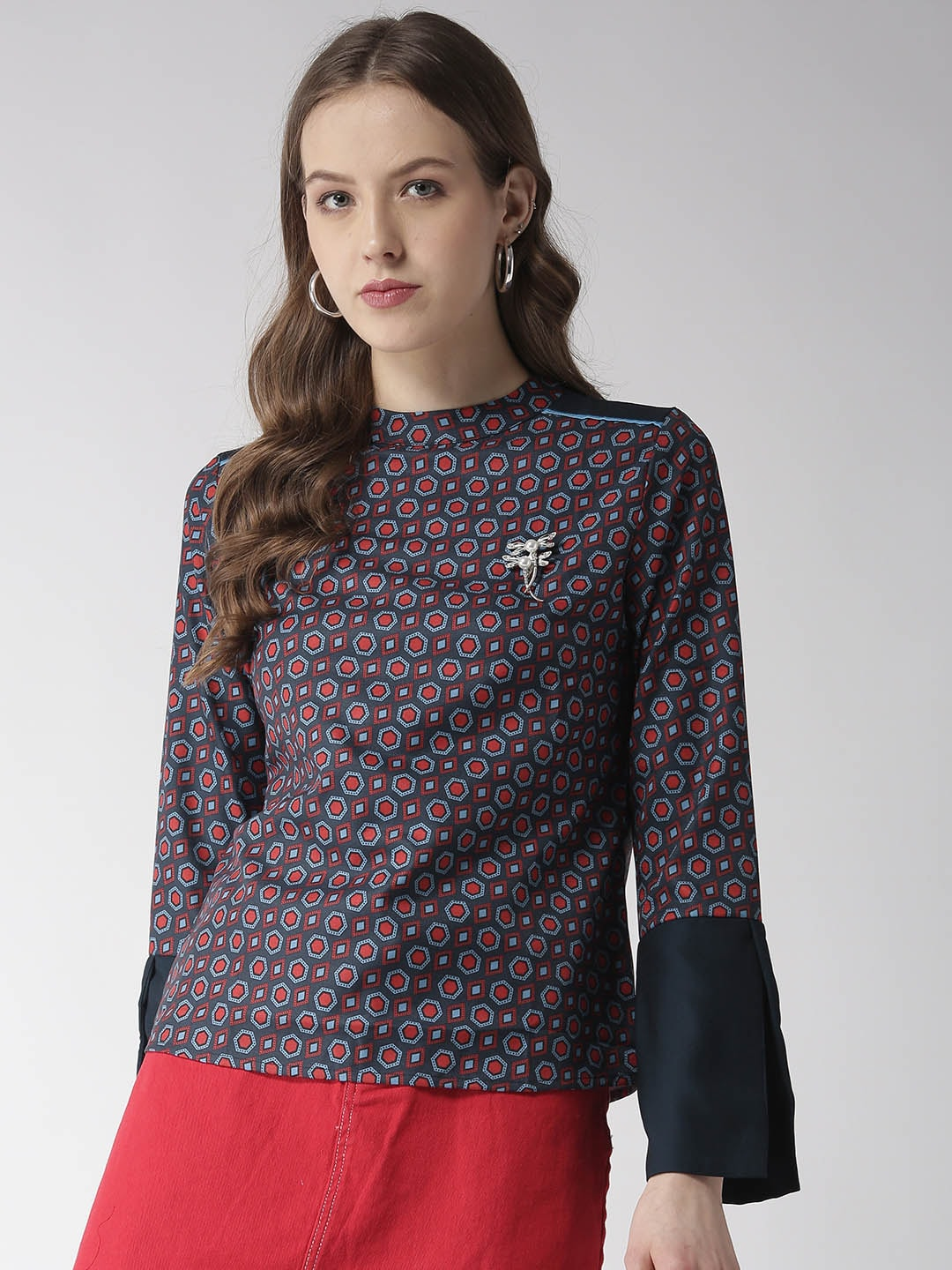 0efa3628cbab13 Madame Tops - Buy Madame Top for Women Online in India