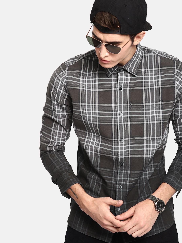 0fb52f4073fb Men Check Shirts - Buy Men Check Shirts online in India