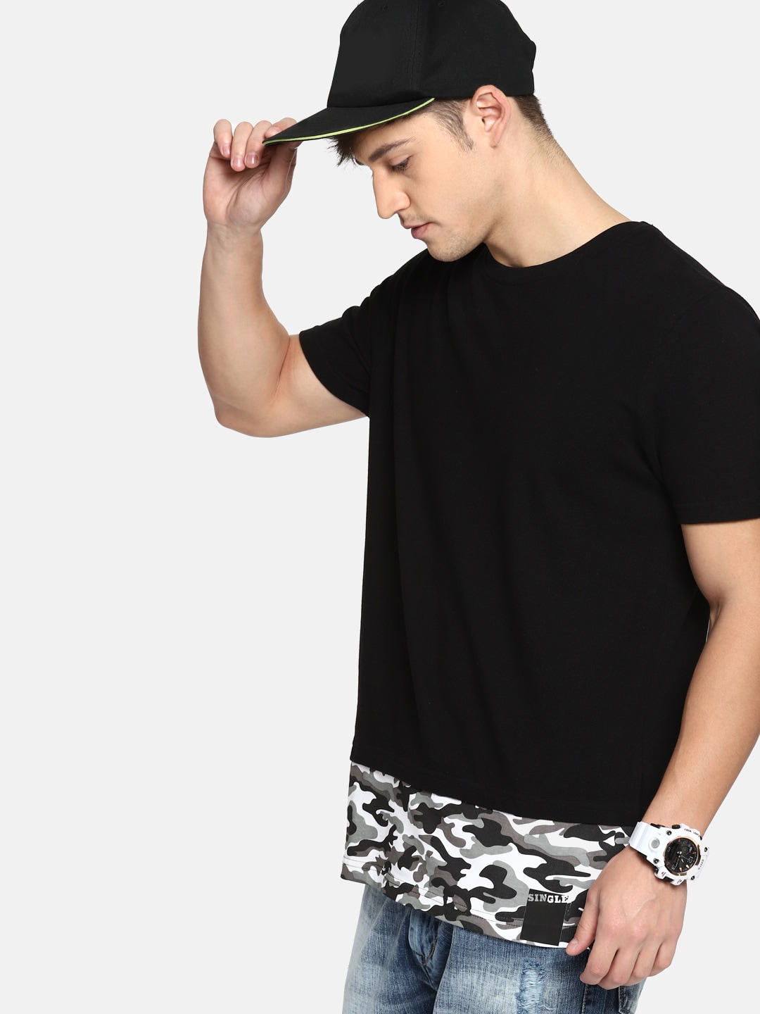 afae043bc4a Camouflage Tshirts - Buy Camouflage Tshirts online in India