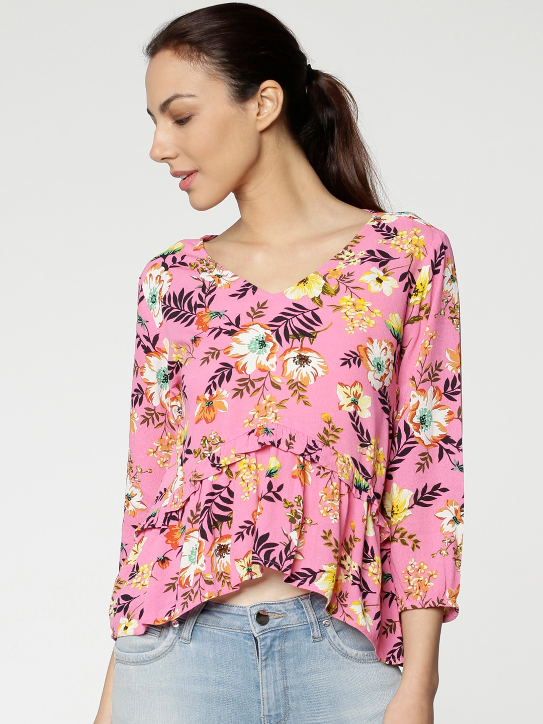 new style bf1ff b4d63 Women Tops 2 Top Shop Fs - Buy Women Tops 2 Top Shop Fs online in India