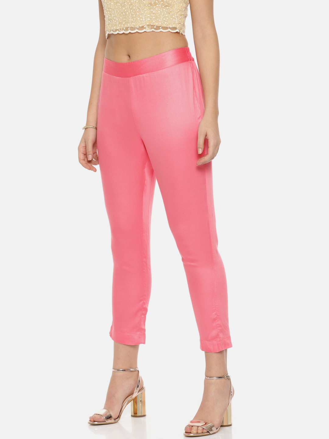 83a5c53a4 Women s Trousers - Shop Online for Ladies Pants   Trousers in India ...