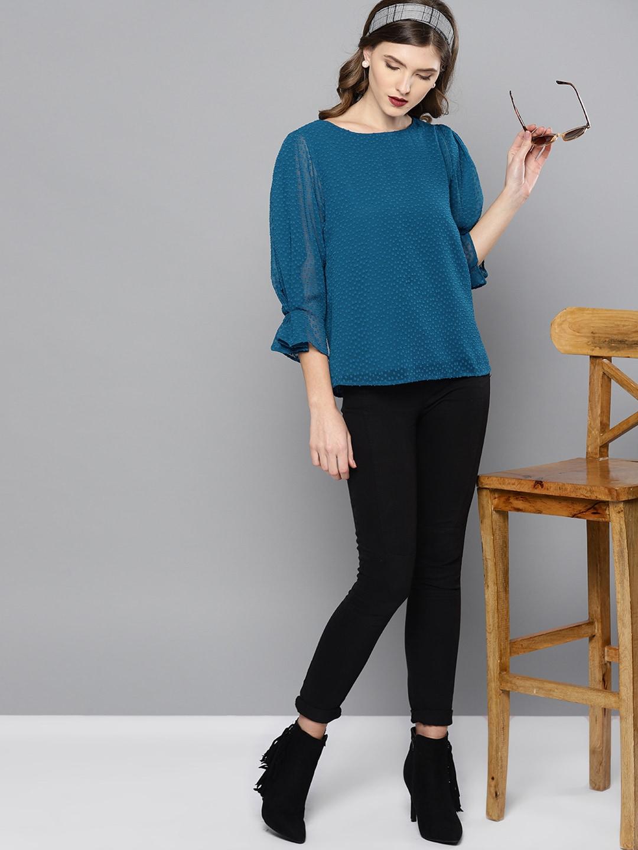 d6ac6e2e807 Ladies Tops - Buy Tops   T-shirts for Women Online