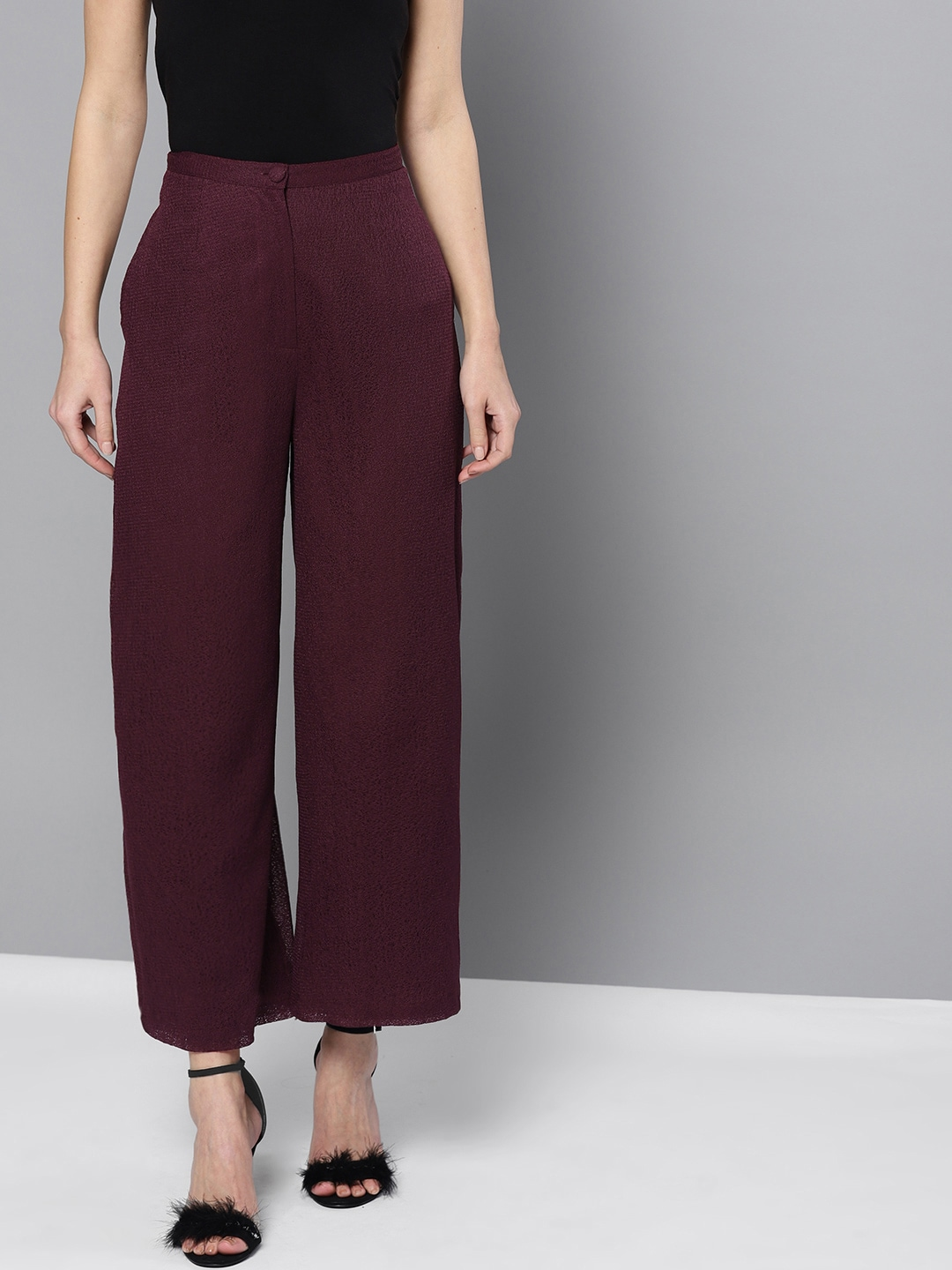 e6b85b850c27 Women s Trousers - Shop Online for Ladies Pants   Trousers in India ...