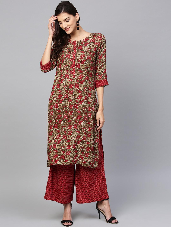 cccb9fafba Sleeve Kurti%27s Patiala Kurtas Set - Buy Sleeve Kurti%27s Patiala Kurtas  Set online in India