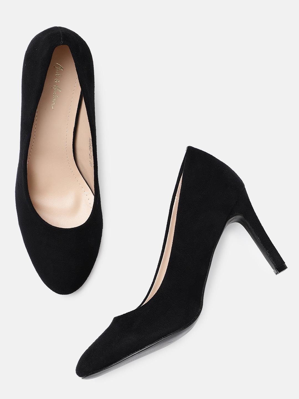b49189b57ef Black Heels - Buy Black Heels Online in India