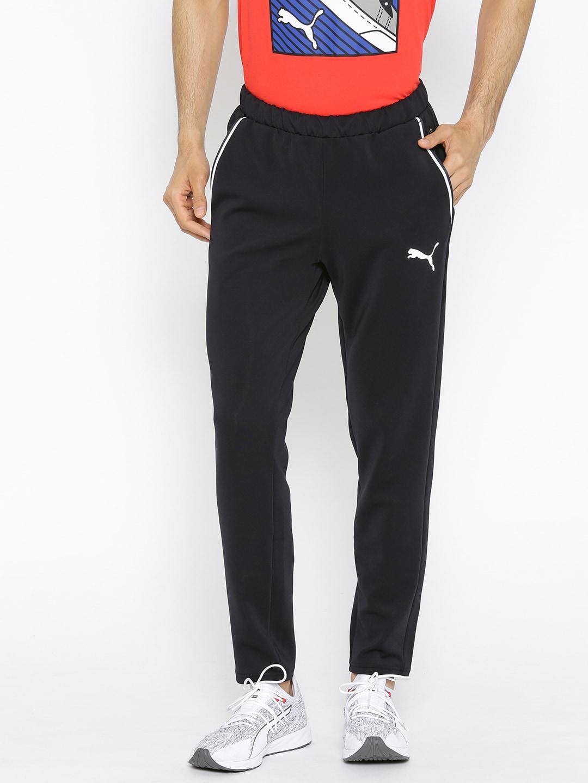 066178027afae Puma Men Black Solid Tec Sports op. Track Pants