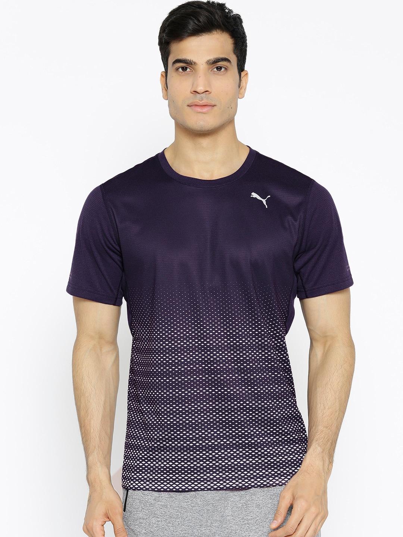 e51d2415e34 Puma Men Navy Blue Blue Tshirts - Buy Puma Men Navy Blue Blue Tshirts  online in India