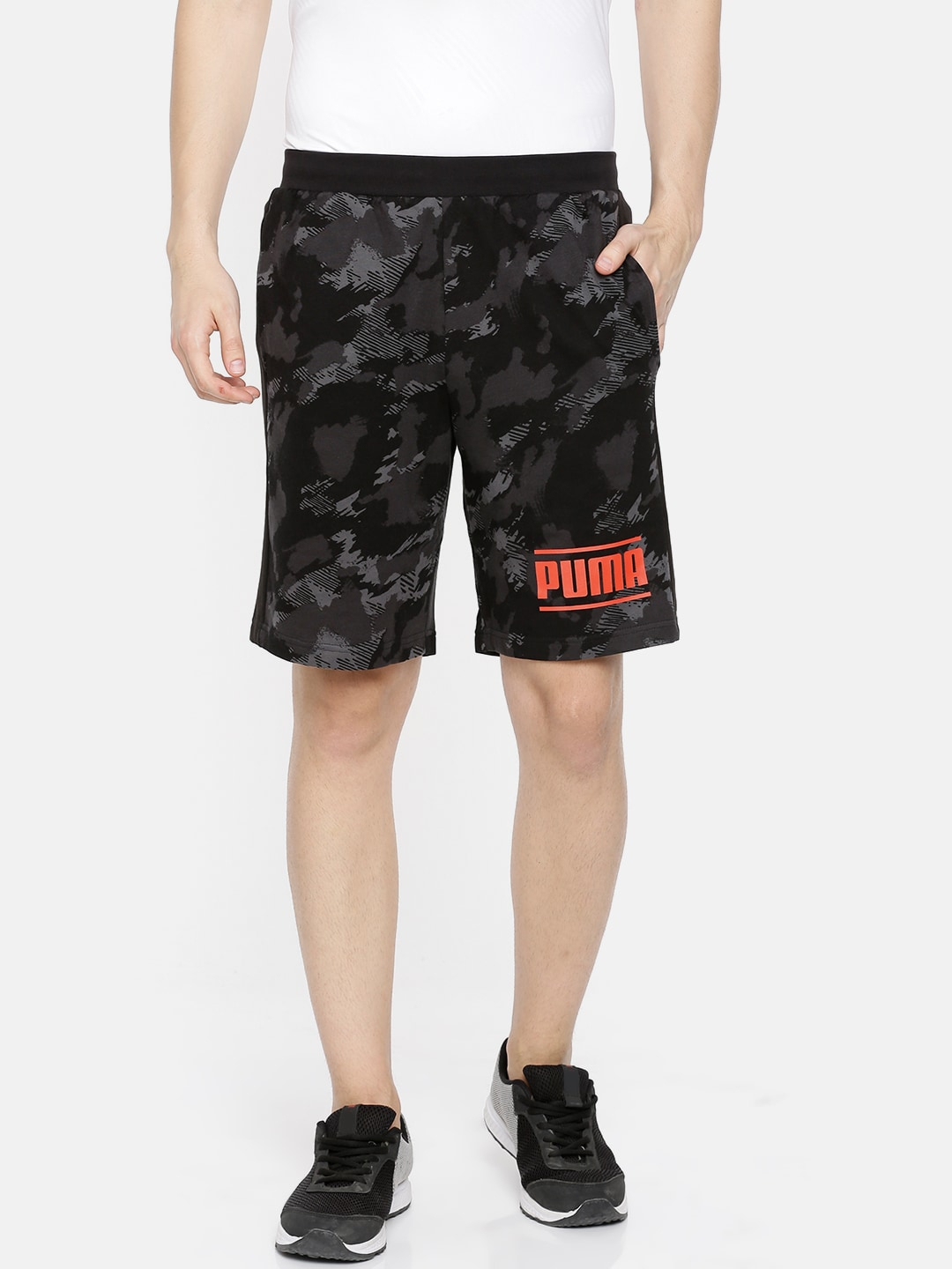 c54fb1f4e9ec Printed Shorts - Buy Printed Shorts Online in India