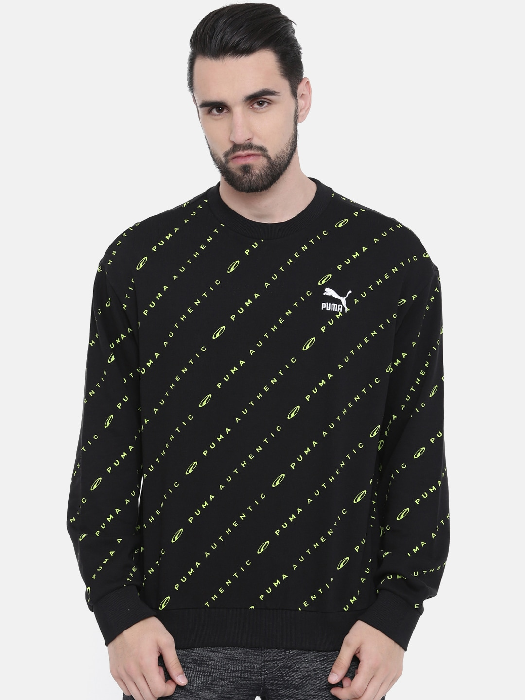 91fa16f1782 Sweatshirts   Hoodies - Buy Sweatshirts   Hoodies for Men   Women Online -  Myntra