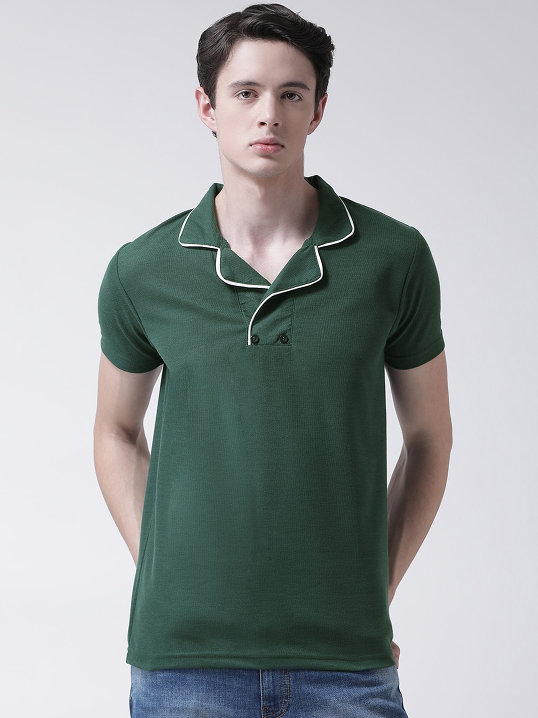 f435dffa Polo T-Shirts for Men - Buy Polo T-Shirts for Men on Myntra