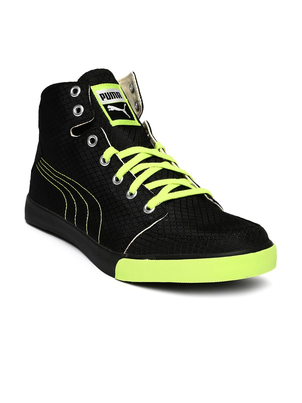 45b0b64721fd Puma High Top Sneakers - Buy Puma High Top Sneakers online in India