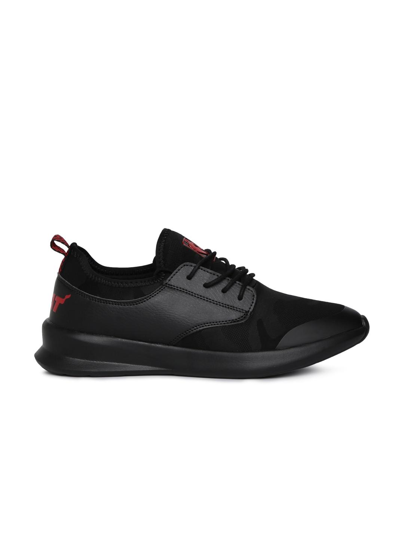 NBA Men Black Miami Heat Sneakers