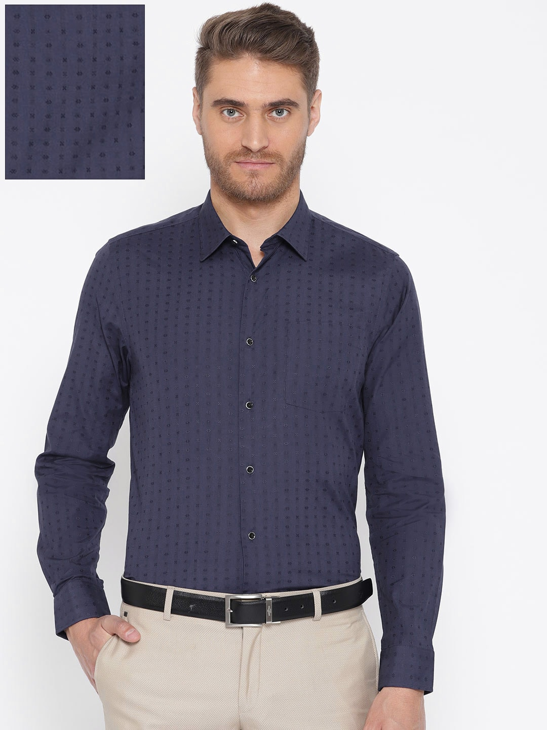 shirts that go with navy blue pants