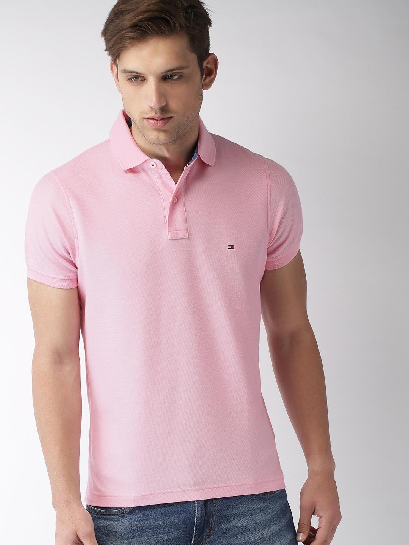 dbf2bf7dbab Pink Tshirt Men - Buy Pink Tshirt Men online in India