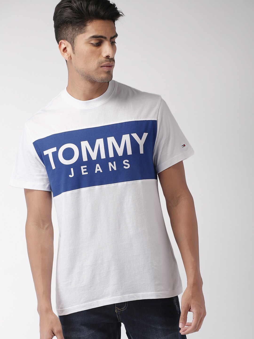86d011d27bc0 Tommy Hilfiger Denim Tshirts - Buy Tommy Hilfiger Denim Tshirts online in  India