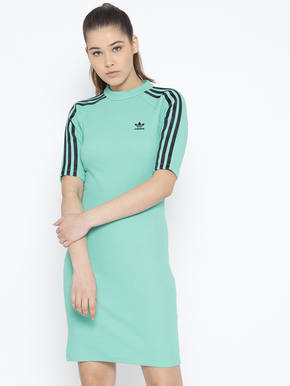 green adidas dress
