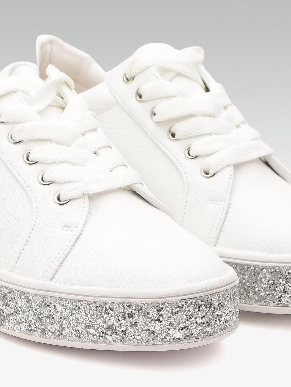 Dune London Women White Sneakers