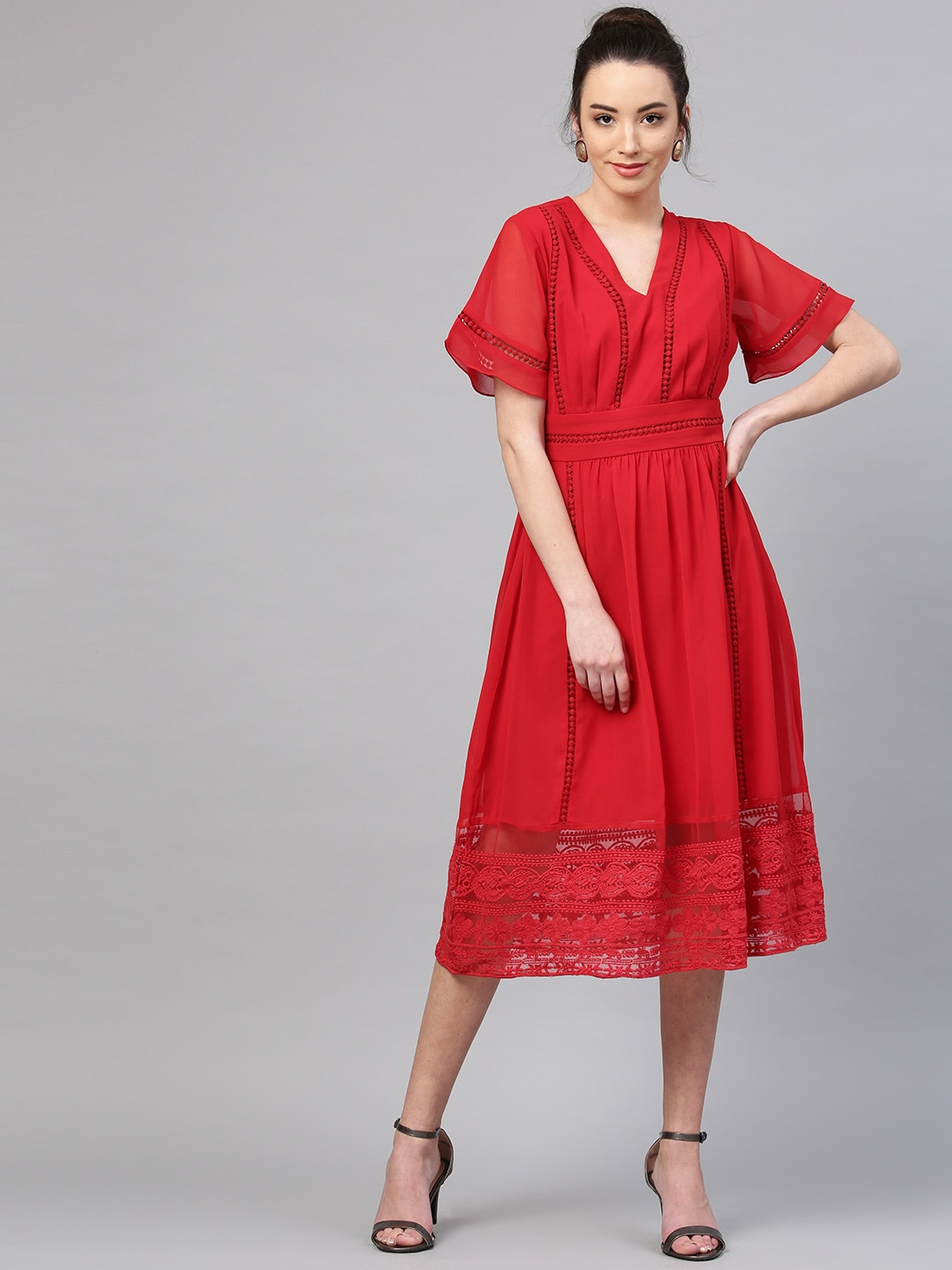 a2892a515a1 Red Dress - Buy Trendy Red Colour Dresses Online in India