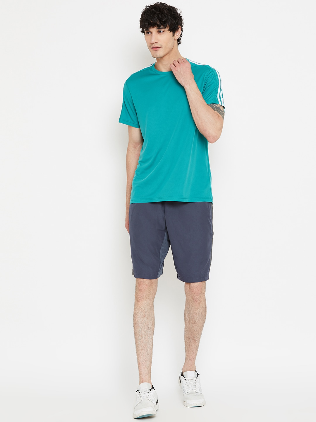 ADIDAS Originals Men Colourblocked Shorts