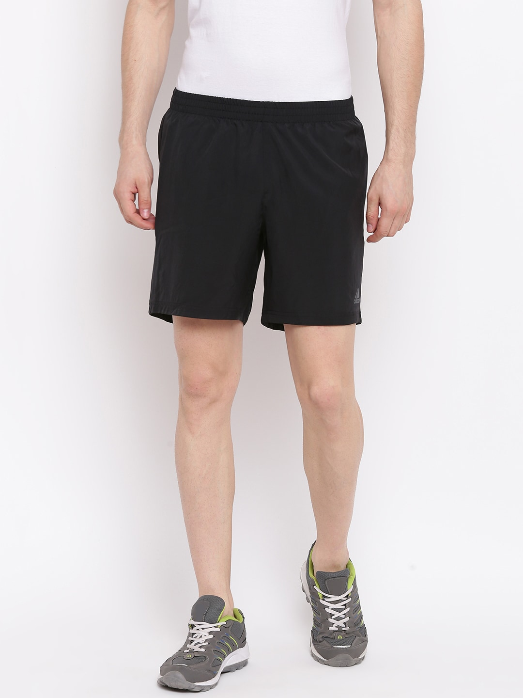 Adidas Solid Shorts Men Run It Sports Black MqSpUzGLV