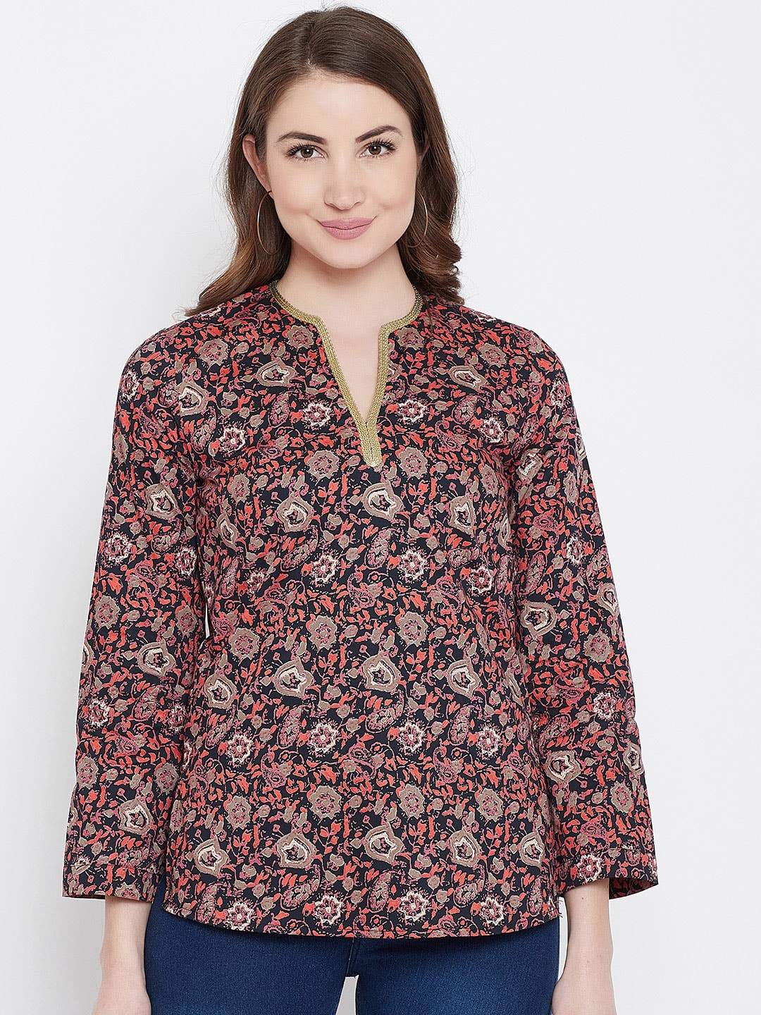 e11ccd0c05 Ethnic Tops - Buy Ethnic Wear for Women Online in India
