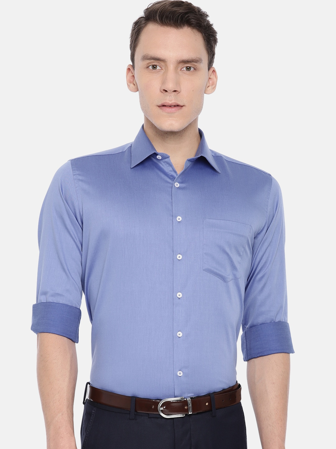 510ccce9157 Slim Fit Formal Shirts - Buy Slim Fit Formal Shirts online in India