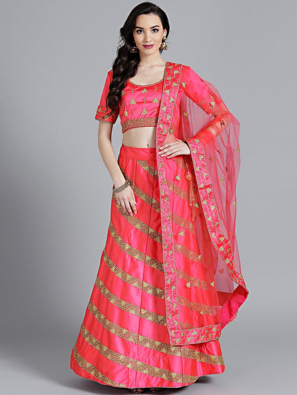e86c06c194223 Jaipuri Lehenga - Buy Jaipuri Lehenga Choli Online