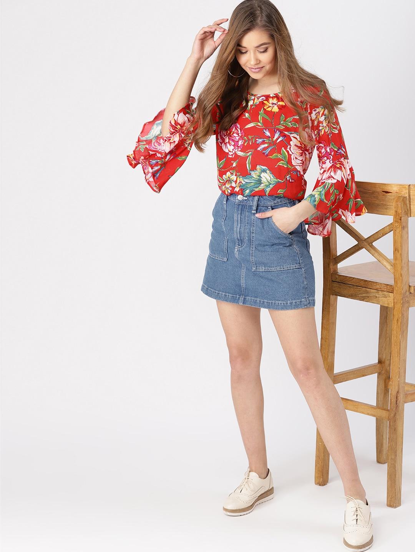 huge selection of 22706 87ce4 Tops - Buy Designer Tops for Girls   Women Online   Myntra