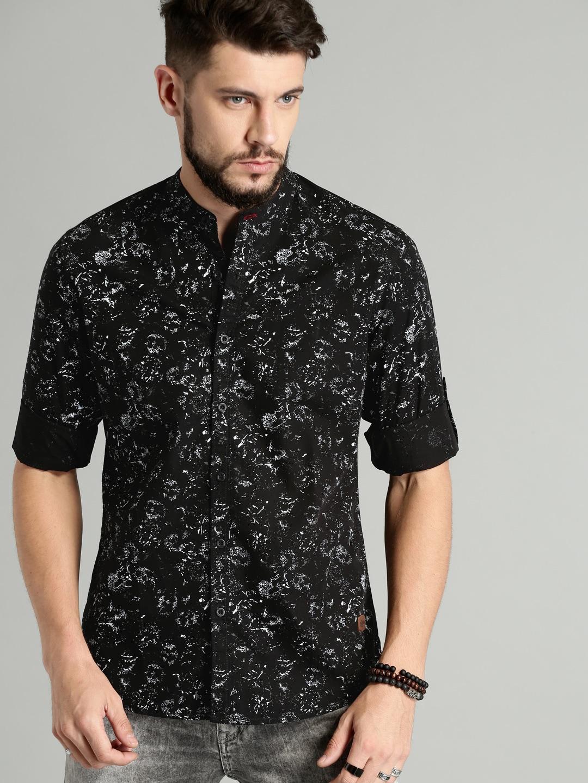 5f50894aa83 Men Black Shirts