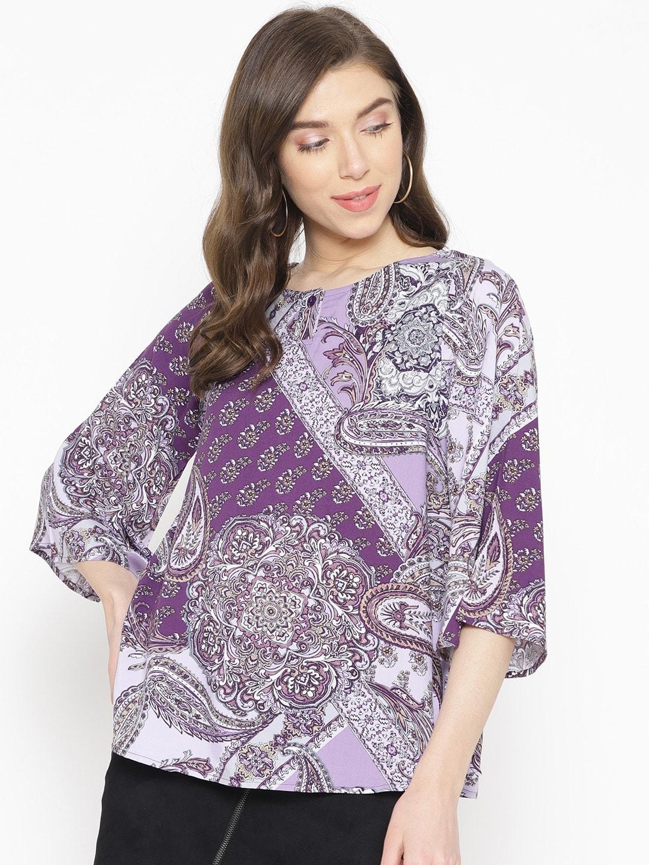 19c1229b10 Purple Tops - Buy Purple Tops Online in India