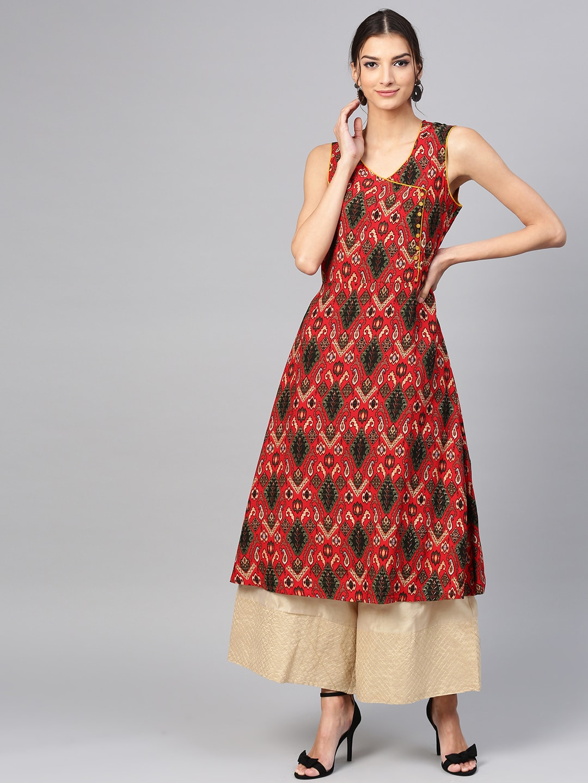 736e24f7e4 Angrakha Kurtas - Buy Angrakha Kurtas online in India
