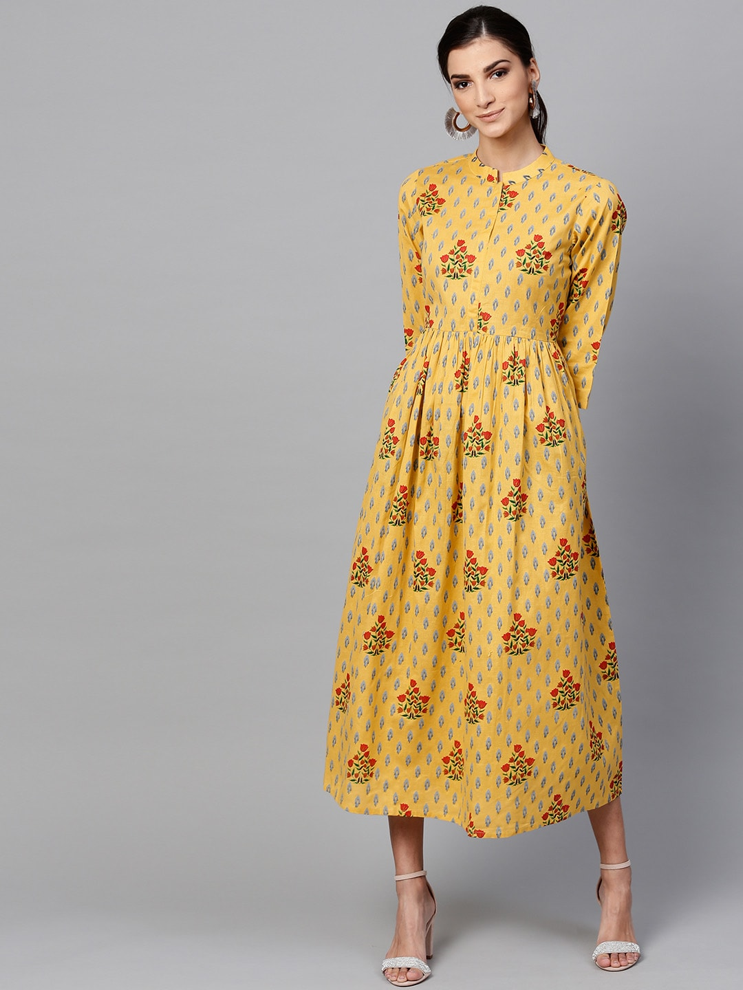 2269a8d773ed Yellow Dress For Women - Buy Yellow Dress For Women online in India