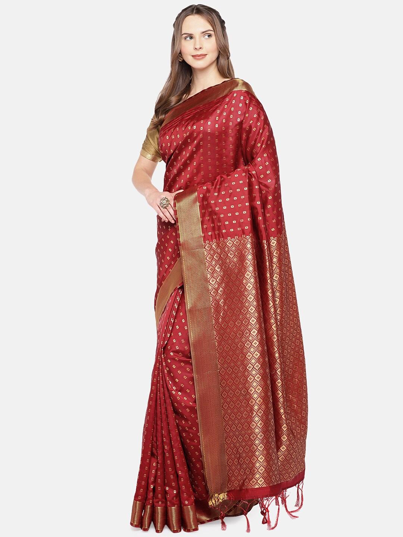 9362b80ac9ab6 Zari Saree - Buy Sarees with Zari borders Online - Myntra