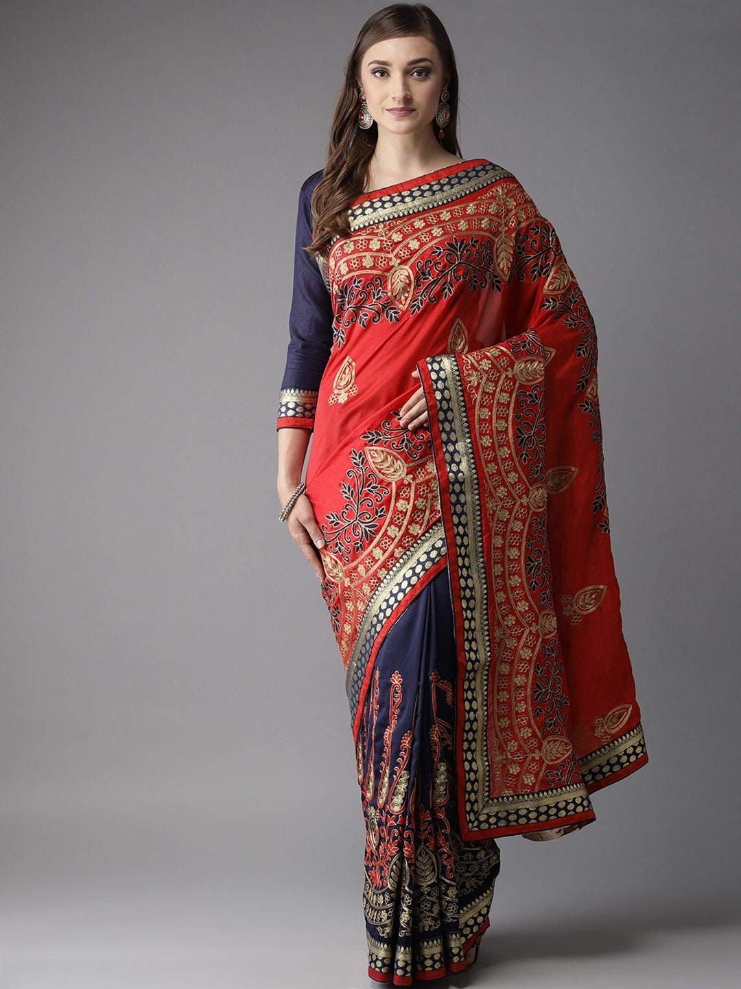 292b63deaf919c Fashion Sarees - Online shopping of Fashionable Saree in India - Myntra