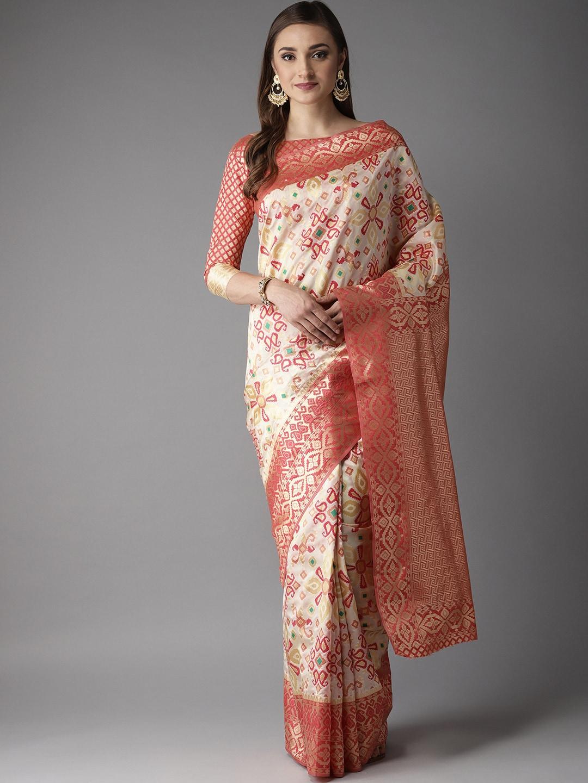 948f332a50b71 Women White Sarees Sarees Blouse - Buy Women White Sarees Sarees Blouse  online in India
