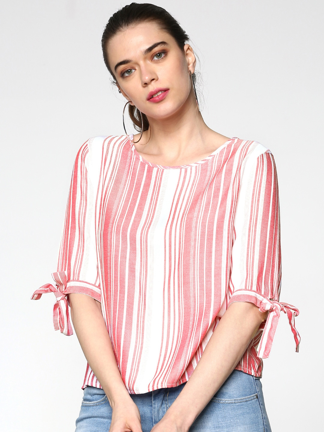 a26723325ebaa Women Striped Tops - Buy Women Striped Tops online in India