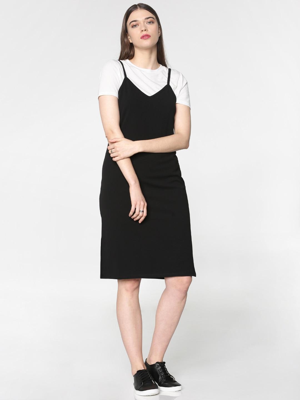 dress with tee shirt