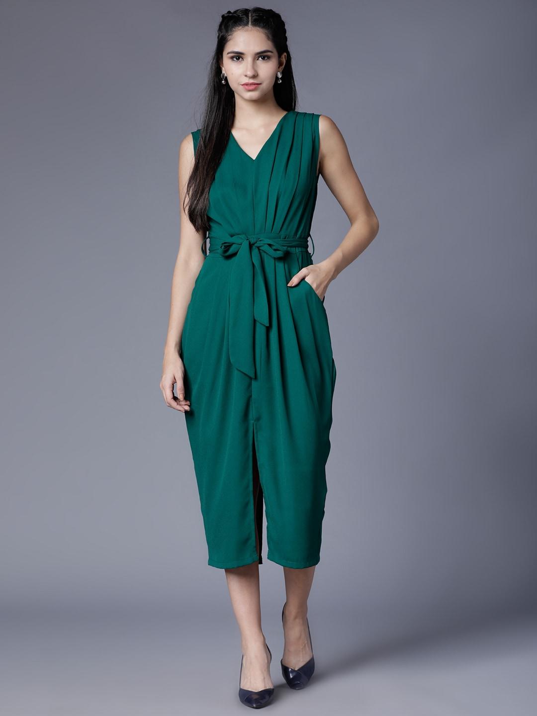 Midi Dresses Buy Midi Dress For Women Girl Online Myntra