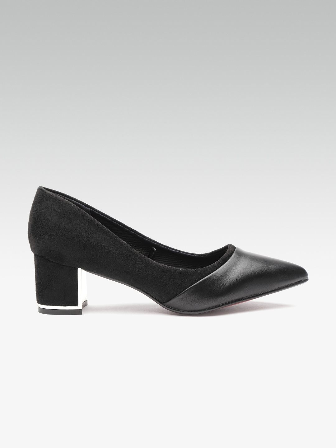 60d9b4739bc Black Heels - Buy Black Heels Online in India