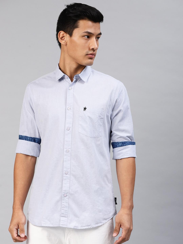 42444440924 Blue Shirt - Buy Blue Shirt online in India
