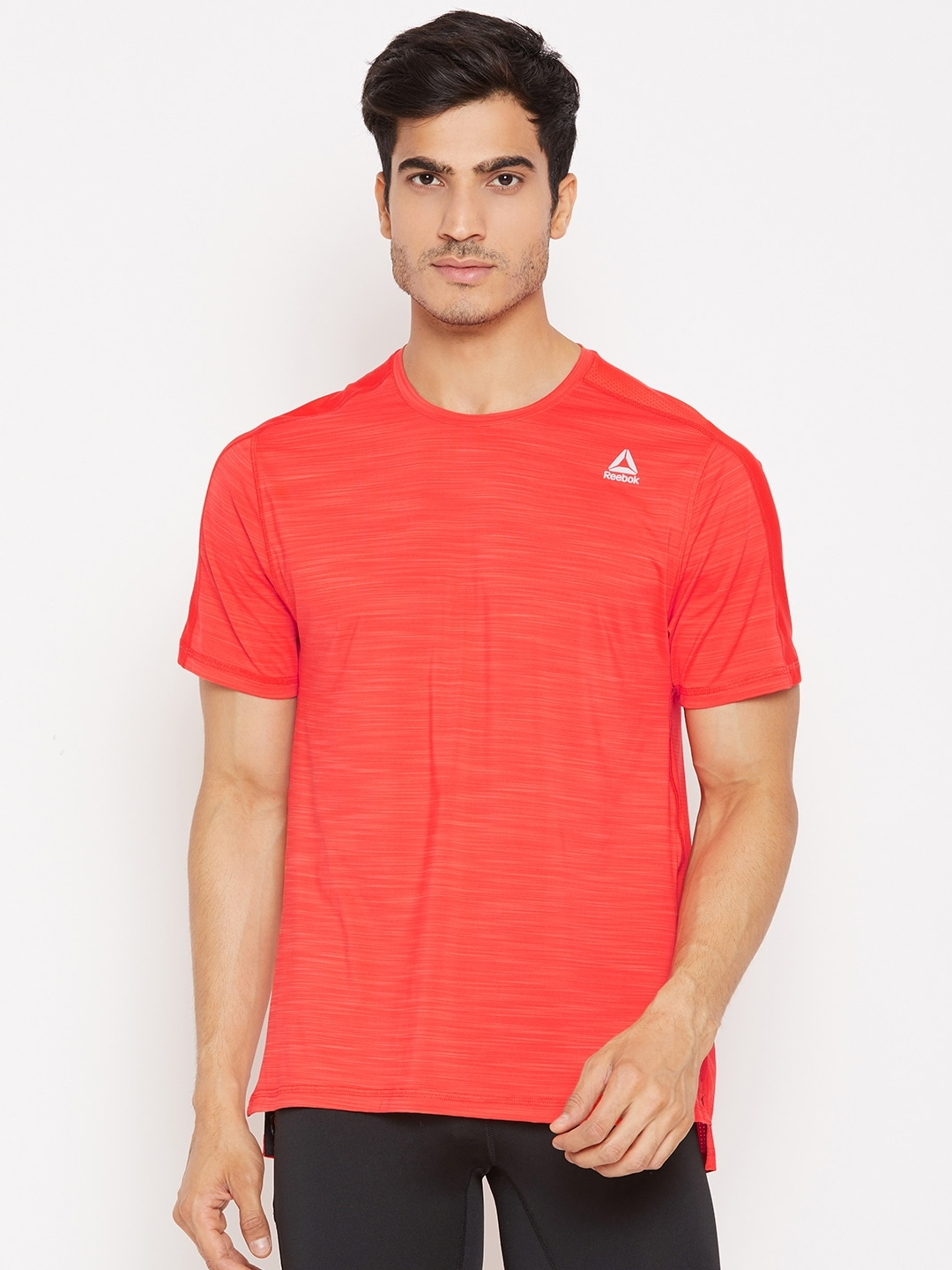 76041dc079 Reebok Men Orange OSR ACTIVCHILL Move Training T-shirt