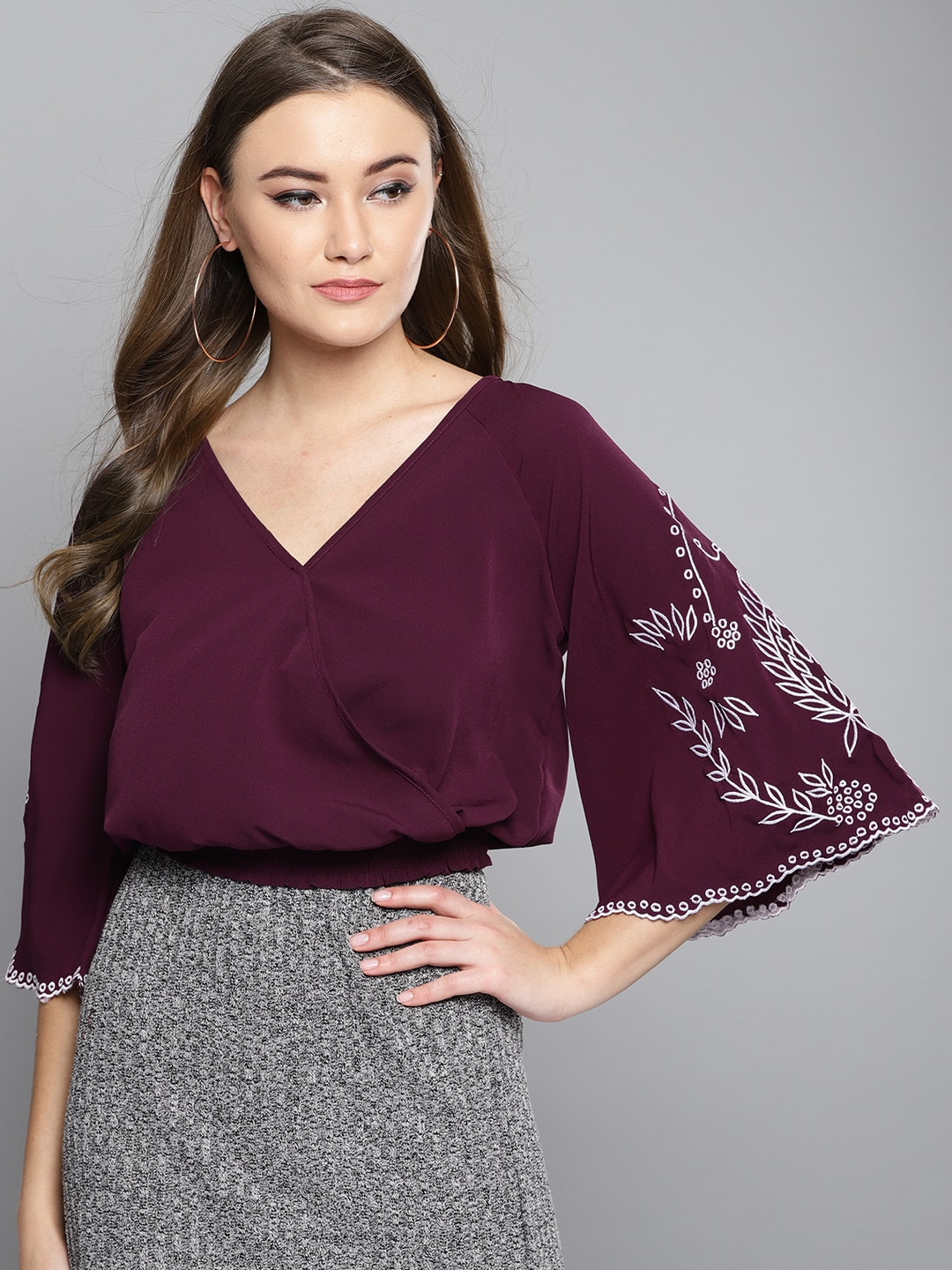 a19bbb00a7b Crop Tops - Buy Midriff Crop Tops Online for Women in India