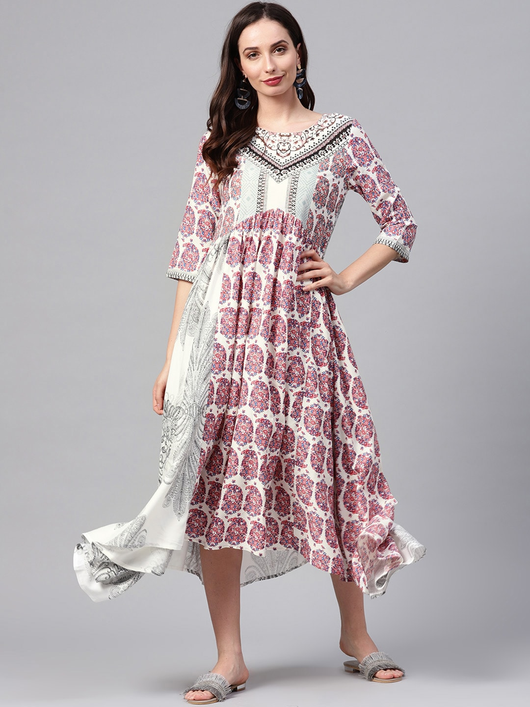 ffc5a08ec Long Dresses - Buy Maxi Dresses for Women Online in India - Upto 70% OFF
