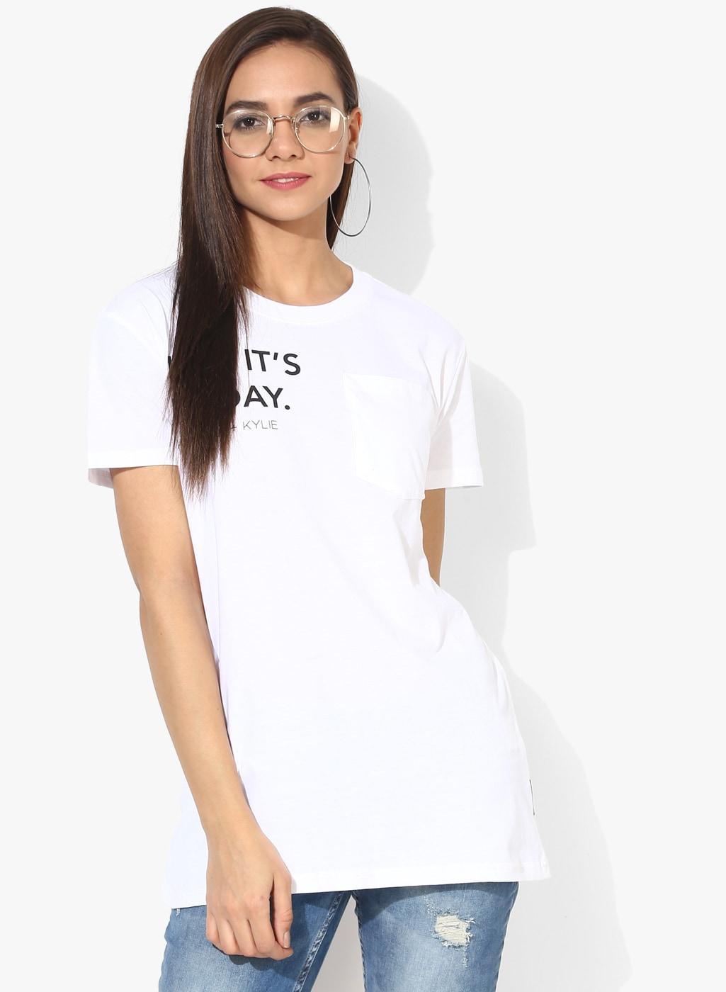 c8bf49f87a Women Tshirt Forever 21 - Buy Women Tshirt Forever 21 online in India -  Jabong