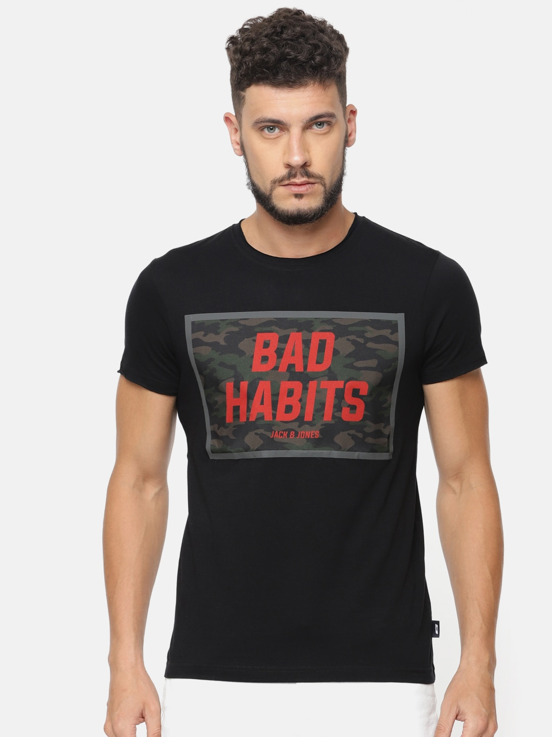 25c441b99c51a8 Jack   Jones T-shirt - Buy Jack   Jones T-shirts Online