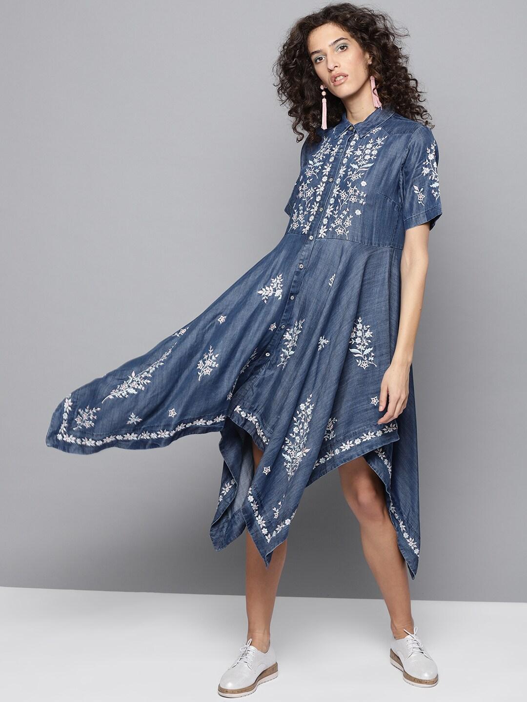 203786cbd Denim Dresses - Buy Denim Dresses Online in India