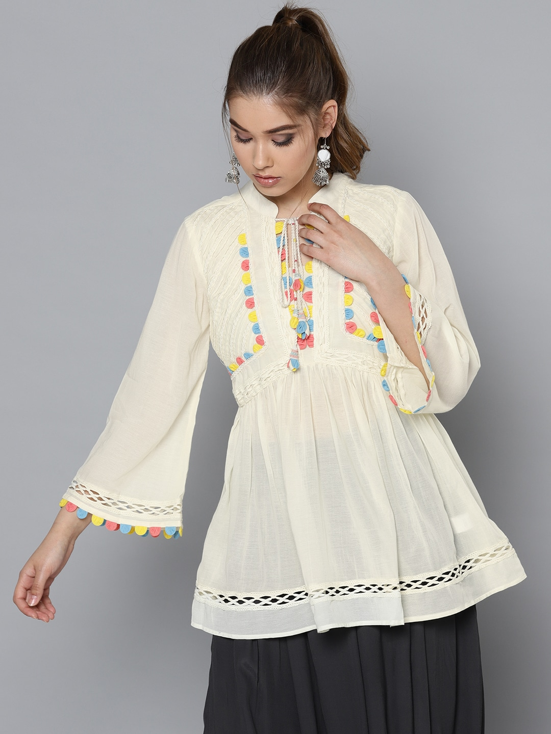 9ceffa93b0e Ruffle Tops - Buy Ruffle Top for Women online in India